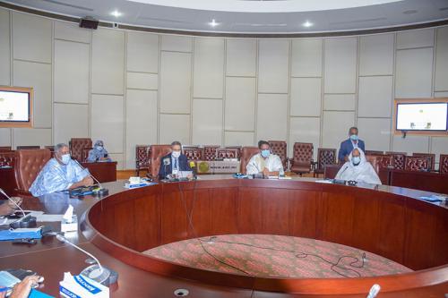 Photo de Discussion sur les résultats de huit mois de gestion du Fonds de lutte contre le Coronavirus