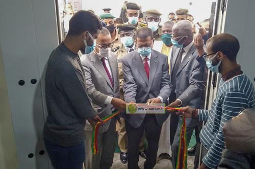 Photo de Inauguration d'une clinique d'ophtalmologie dans la moughataa de Riyad