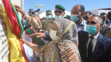Photo de Inauguration d'un stade de football à Nouadhibou