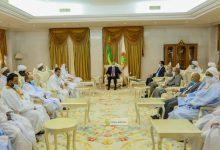 Photo de Le Président de la République reçoit le bureau exécutif de l'Association des Ulémas mauritaniens