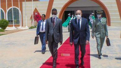Photo de Départ du Président de la République pour N'Djamena