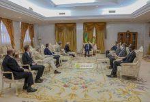 Photo de Le Président de la République reçoit le haut représentant de l'Union européenne pour les affaires étrangères et la politique de la sécurité