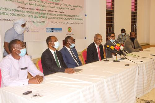 Photo de Nouakchott : Ouverture d'une session de formation sur la prolifération de la drogue chez les jeunes