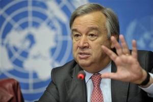 Photo de Covid-19 : «Nous sommes en guerre», proclame le secrétaire général de l'ONU