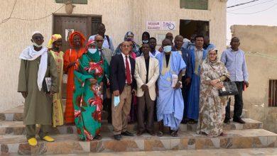 Photo de Communiqué de presse :Election du Président et du Bureau Exécutif de la section UPF-Mauritanie