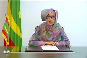 Photo de La ministre de l'Environnement participe au dialogue de l'ONU sur la désertification, la dégradation des terres et la sécheresse