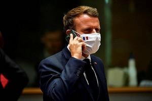 Photo de Projet Pegasus. Emmanuel Macron a changé de téléphone et de numéro