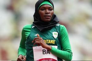 Photo de Tokyo 2021: la Mauritanienne Houleye Ba, une institutrice double olympienne