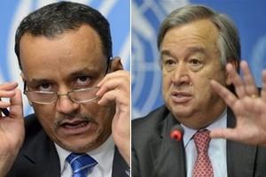 Photo de Le ministre des affaires étrangères rencontre le secrétaire général de l'ONU