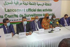 Photo de Lancement officiel des activités du comité de surveillance du marché et de respect des prix