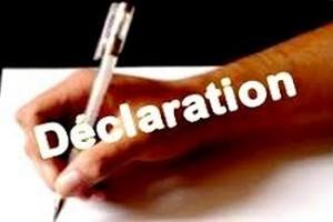 Photo de Déclaration de la Coordination des ONG nationales à propos des concertations en préparation