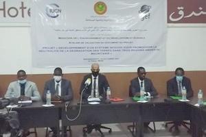 Photo de Le MEDD et l'UICN valident le document de projet «Drylands» qui cible 3 zones arides en Mauritanie